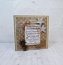 Weihnachtskarte 11 - Weihnachtszauber...