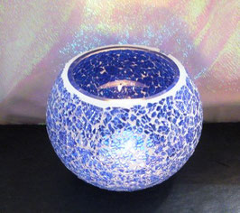 Mosaikwindlicht - Blau hell