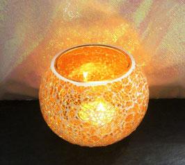 Mosaikwindlicht - Orange hell