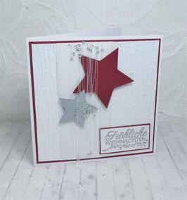 Weihnachtskarte 51 - Fröhliche Weihnachten