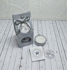 Kleine Teelichtbotschaft - für di