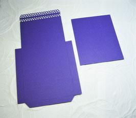 Papierrohling Bestecktasche 2