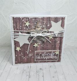 Weihnachtskarte 22 - Schöne Weihnachten
