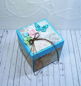 Geburtstags - Überraschungsbox 4, Türkis
