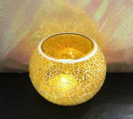 Mosaikwindlicht - Gelb hell