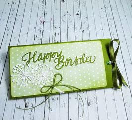 Ziehschokolade Geburtstag - Häppy Börsdei