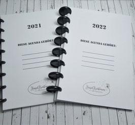 Agenda Zubehör - Innenleben Jahresplaner 2021 / 2022