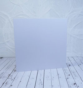 Wunschkarte - Quadratische Minicard weiss