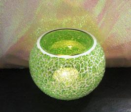 Mosaikwindlicht - Hellgrün hell