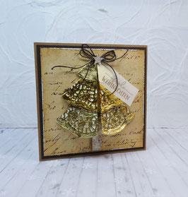 Weihnachtskarte 3 - frohe Weihnachten