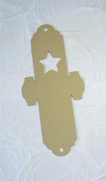 Schokokugel Papierrohling klein - Sujet Stern