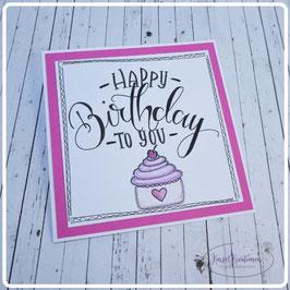 Lettering Geburtstag 3