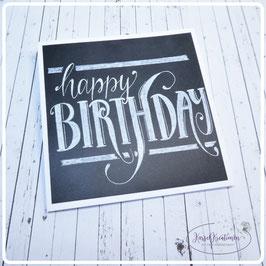 Lettering Geburtstag 1