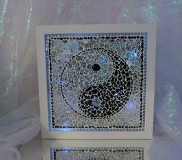 Mosaik Leuchtbild 5 - Yin & Yan