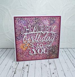 Geburtstag 36 - Happy Birthday to you