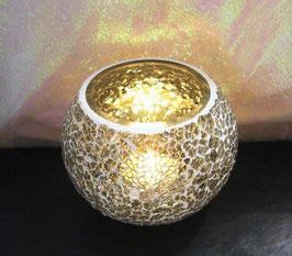 Mosaikwindlicht - Crystalgrau hell