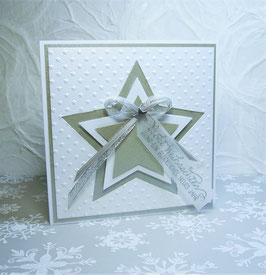 Weihnachtskarte 6 - Frohe Weihnachten und ein glückliches, neues Jahr