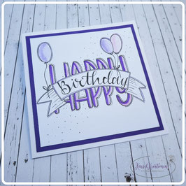 Lettering Geburtstag 10