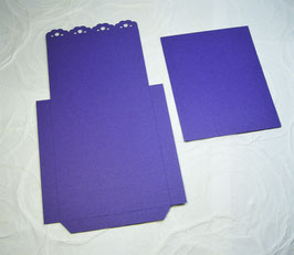 Papierrohling Bestecktasche 5