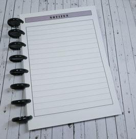 Agenda Zubehör - Notizen