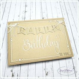 Lettering Geburtstag 7