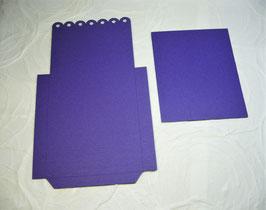 Papierrohling Bestecktasche 3