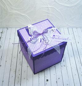 Geburtstags - Überraschungsbox 1, Violett