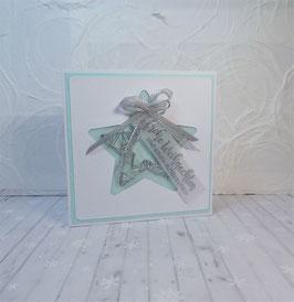 Weihnachtskarte 21 - frohe Weihnachten und einen guten Rutsch