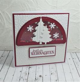 Schüttelkarte Weihnachten 5 - fröhliche Weihnachten