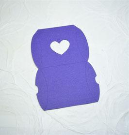 Papierrohling Pillwobox - Sichtfenster Herz