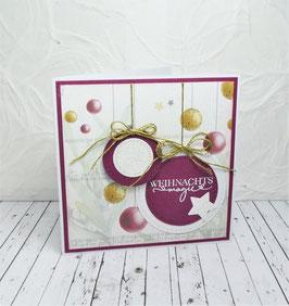Weihnachtskarte 41 - Weihnachtsmagie