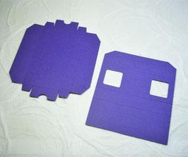 Papierrohling Schiebeschachtel - Glückstäfelchen