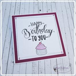 Lettering Geburtstag 13