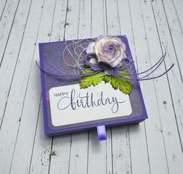 Geburtstag Teelichtbotschaft 5 - Happy birthday