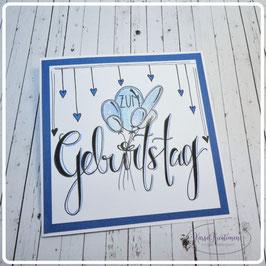 Lettering Geburtstag 29