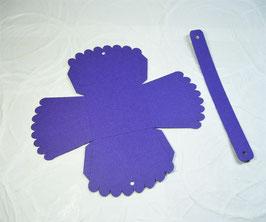 Papierrohling Körbli mit Henkel