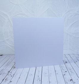 Wunschkarte - Quadratische Karte weiss - 13.5x13.5 cm2