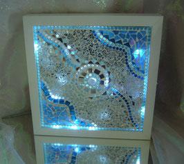 Mosaik Leuchtbild 3 - Wellen