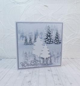 Weihnachtskarte 29 - schöni Wiehnachte
