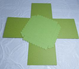 Papierrohling Überraschungsbox - quadratisch