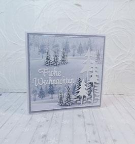 Weihnachtskarte 5 - Frohe Weihnachten