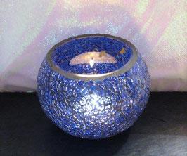Mosaikwindlicht - Blau dunkel