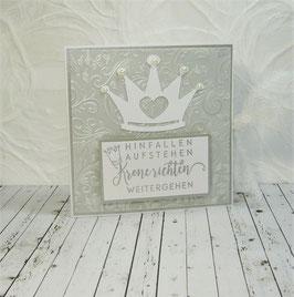 Kombicard Krone 4 - Hinfallen, Aufstehen...