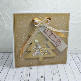 Schüttelkarte Weihnachten 6 - Zauberhafte Weihnachten