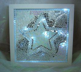 Mosaik Leuchtbild 4 - Stern