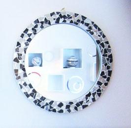 Mosaik-Spiegel rund