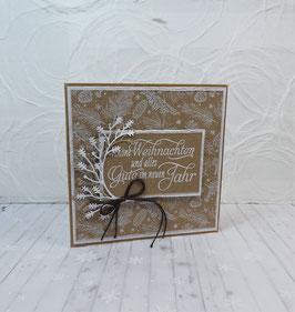 Weihnachtskarte 24 - Schöne Weihnachten