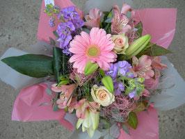 Bouquet bulle pastel