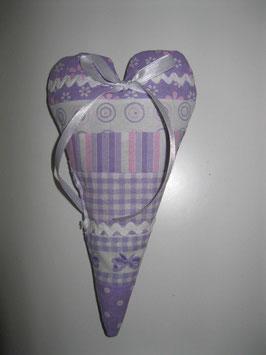 "Lavendel-Herzerl ""bunt"""