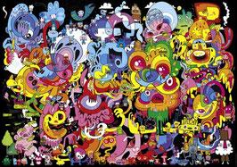 Burgerman, Psychedoodlic (puzzle 4000 pièces)